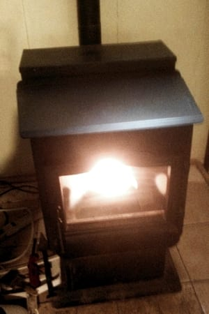 Hestia - Our Pellet Stove